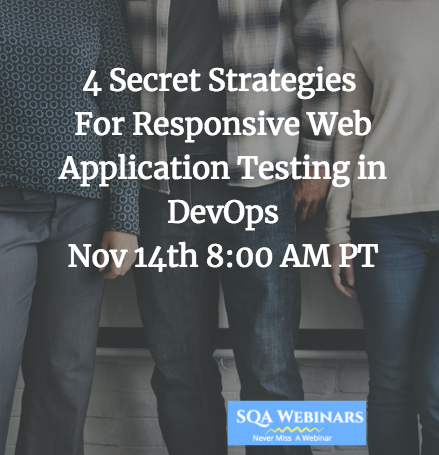 4 Secret Strategies For Responsive Web Application Testing in DevOps