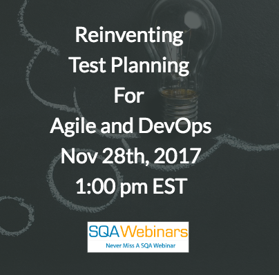 Reinventing Test Planning for Agile and DevOps