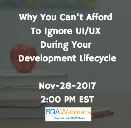 Why You Can't AffordTo Ignore UI/UXDuring YourDevelopment Lifecycle