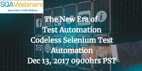 Codeless Selenium Test Automation-KiwiQA and TestCraft