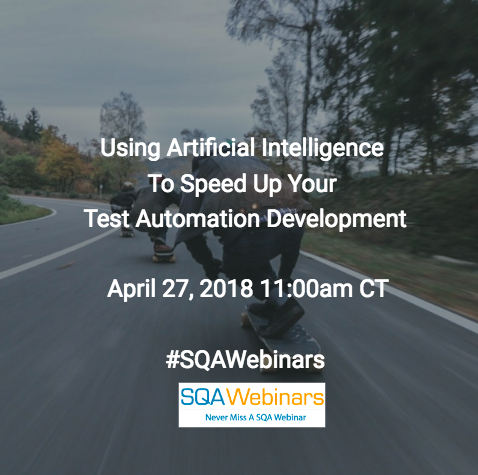 Using Artificial Intelligence to Speed Up Your Test Automation Development @appdiff